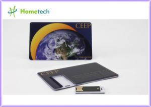 China 1GB - 16GB Ultrathin Business Credit Card USB Drive U Disks for Promotional Gift on sale