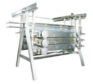 China chicken slaughtering machine stainless steel made A shaped plucker on sale