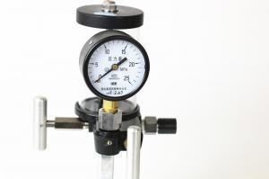 China Hand pressure calibration manual test pump on sale