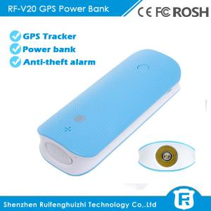 China 4500mAh long battery life hidden anti-lost spy gps tracker power bank on sale