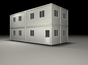 China Living Container House/Holiday Container House on sale