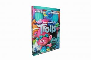 China Hot selling Wholesale trolls Cartoon Disney DVD Movies,new dvd,boxset free shipping on sale