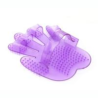 Five Fingers Jelly Curry Comb Plastic Pet Grooming And Massage Tool