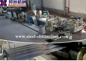 China Automatic Stainless Steel Slitting Line with 0.3 - 3mm Thickness Of Coil Plate on sale