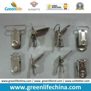 China Metal ID Badge Accessories Tooth Lid Office Clip for Promotion on sale