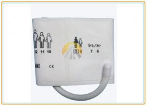 China Child Paediatric Blood Pressure Cuff , Single Tube Disposable Blood Pressure Cuff on sale