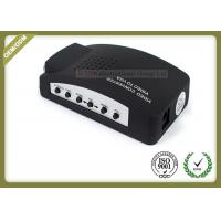AV TO VGA Fiber Optic Media Converter Plug And Play Video To VGA Converter