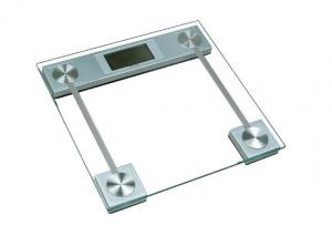China Glass platform Blue / Red Exquisite Digital Bathroom Scales XJ-3K814 on sale