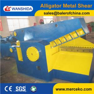 China 200tons Q43-2000 China Alligator Metal Shear machine shearing steel bars with 30KW motor from equipment supplier on sale