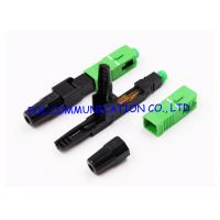 FTTH Fast Connector SC Fiber Optic Quick Connector UPC APC Available