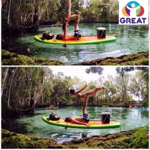 China high quality  Tumble Track Inflatable Air Mat for Gymnastics GT-GYMT-004 on sale