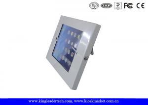China 9.7 Metal Security Ipad Kiosk Enclosure for ipad 2 / 3 / 4 / ipad air on sale