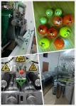 linha de produção da capsulagem do Paintball da capacidade 18000P com PLC e tela táctil