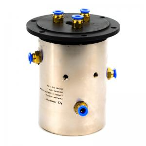 China Slip Ring of 3 Channels Rotary Union Joint Routing Oxygen & Acetylene for Automation Equipment on sale
