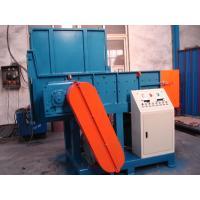 JYM 30KW Double Shaft Waste Plastic Shredder Machine High Shredding Efficiency With Blue Color