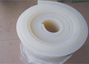 China Compression Molded Silicone Rubber Sheet High Temp Any Colors Available on sale