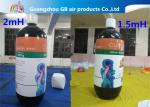 Customized Inflatable Model Giant Advertising Inflatable Bottle Balloon For Sale