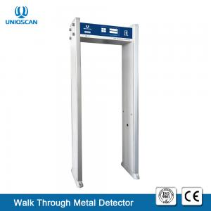 China 4 Zone  Walk Through Metal Detector 2 Years Warranty For Safety Inspection on sale
