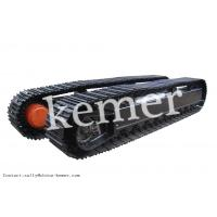 Excavator steel rubber track undercarriage/crawler undercarriage for EX60-1/2