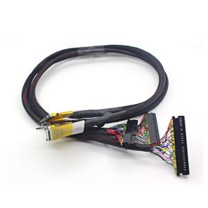 China Industrial LCD LVDS Cable To LCD Screen Led Converter Customizable Length on sale