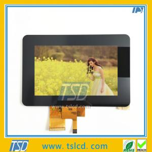 China 5 inch  tft lcd module 800x480 resolution with capacitive touch screen on sale