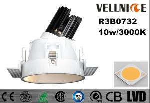 China SGS Recessed COB LED Downlight , 10 Watt 37v Led Down Lights For Homes on sale