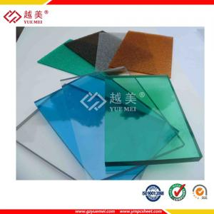 China 4mm-10mm high impact strength poly carbonate solid sheets on sale