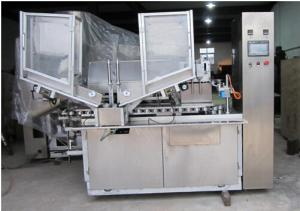 China Two color toothpaste soft Tube filling sealing machine on sale