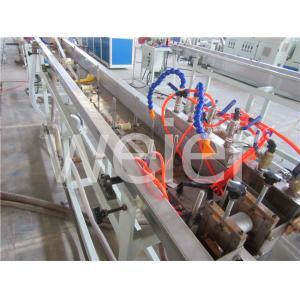 China Machines en plastique d'extrusion de vis simple de précision pour la bande de bord de tirage en couleurs de PVC trois on sale