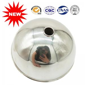 China Stainless Steel Liquid Level Float Ball With Matte Brushed 110MM 3 MPA Pressure on sale