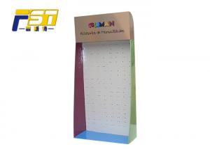 China 4C Offest Printing Side Wing Display , Easy advertising Cardboard Sidekick Displays on sale
