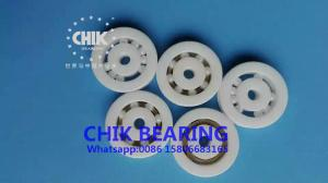 China High Speed Low Noise Ceramic Ball Bearing 6201 6202 6203 6204 For Bicycle / 3D Printer on sale