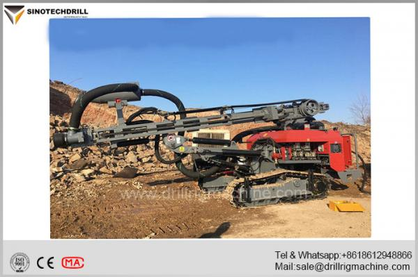 Open Pit DTH Drill Rig Machine Separated Type 30m Depth 140mm