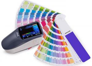 Quality YS3010便利な手持ち型の測色計、色の一致の分光光度計400-700nmの波長 for sale