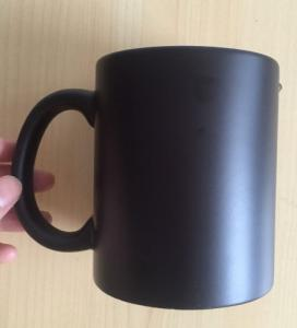 China Spray Painting Stoneware Unique Promotional Gifts Could Change Color Different Shape Tea Mug Coffee Mug on sale