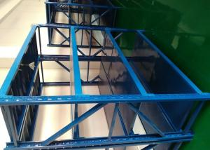 China Light Duty 4 Shelf Metal Shelving Unit Cold Rolled For Household on sale