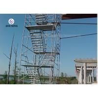 China Socket And Spigot Joints Type Scaffold Stair Tower For Chimneys Water Towers on sale