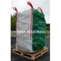 China Firewood ventilated mesh bulk bags with 100% vigin polypropylene on sale