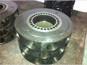 China MS125 Poclain Hydraulic Motor Parts With Cover Plate Break Shaft , Brake Shaft on sale