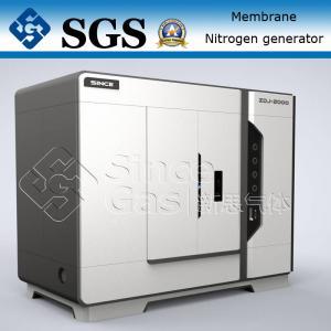 China SINCE GAS Nitrogen Membrane Unit / Membrane Type Nitrogen Generator Plant on sale