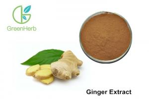 China Water Soluble Vegetable Extract Powder , Ginger Root Extract Powder on sale
