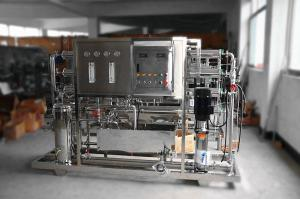 China Custom RO Stage Water Purification Systems 0.7 - 1.5 Mpa Operation Pressure on sale