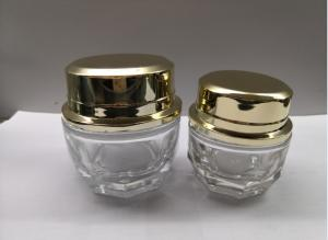 China 30g 50g  Round Cosmetic Jar Packaging Clear Cream Jars Packaging Any colors are avaliable on sale