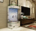 arch face aquarium, fish tank, custom made according to your sizes, factory price and excellent service