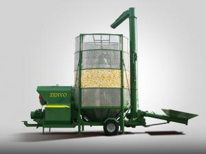 China Industry Portable Batch Grain Dryers For Rice Drying Capacity 10 - 30 M3 on sale