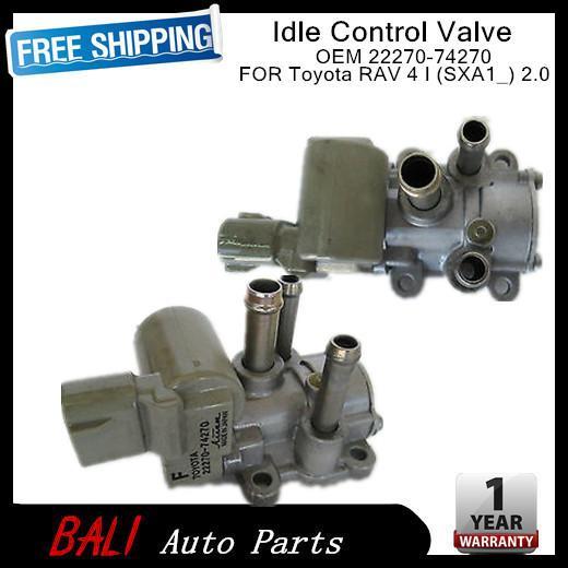 SXA1/_ 2.0 Great 22270-74270 Idle Air Control Valve For Toyota RAV 4 I