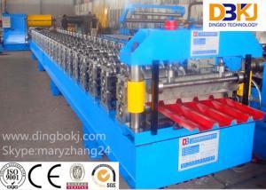 China PLC Control System Roof Sheet Making Machine Corrugated Iron Rolling Machine on sale