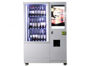 China Hotel Belt Conveyor Bottle Wine Vending Machine With Elevator System In Public Place on sale