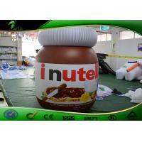 China Haciendo publicidad de la salsa de chocolate inflable embotelle/forma inflable del tarro para la alameda on sale