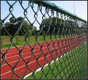 "China 1 3/4"" Mesh x 10 Gauge Vinyl Coated chain link fence Fabric( ISO 9001) on sale"